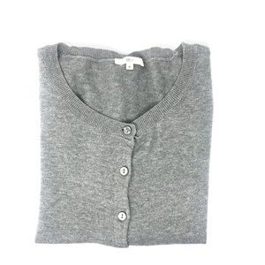 Mix Gray Cardigan
